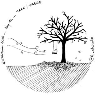 inktober14 - TREE